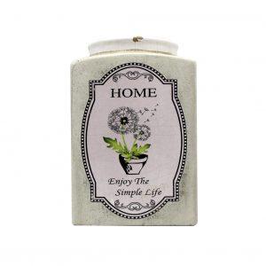 Vaso de cerâmica HOME